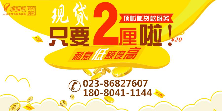 重庆房产抵押贷款公司有哪些